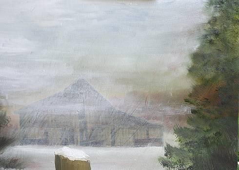 Kentucky Snow Storm by Gary Zimmerman