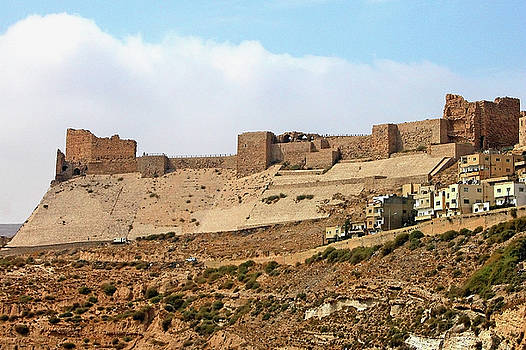 Kerak Castle by Dennis Jarvis
