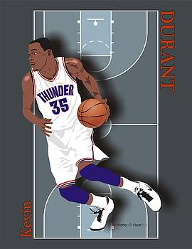 Walter Oliver Neal - Kevin Durant, No. 35