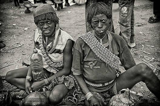 Key Afar Market Portrait  by Nichon Thorstrom