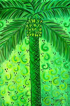 Key Lime Palm by Helen Gerro