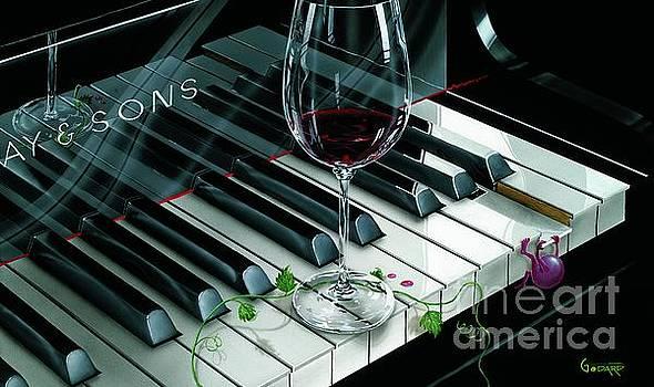 Key To Wine by Michael Godard
