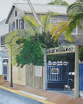 Key West Blue Heaven by John Schuller