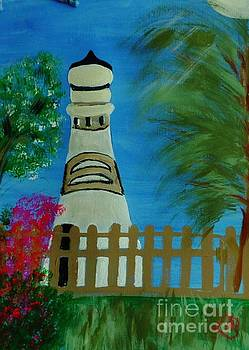 Key West Lighthouse by Marie Bulger