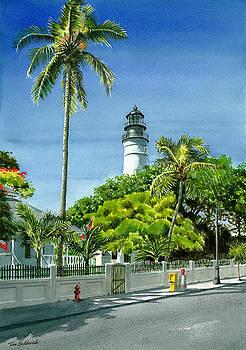 Key West Lighthouse by Tom Hedderich