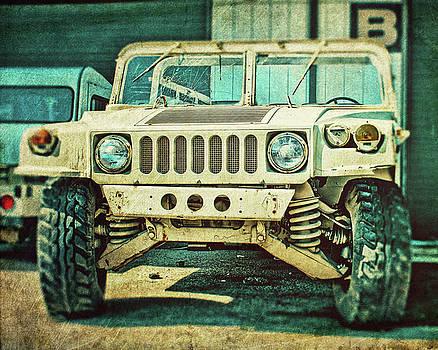 Khaki Jeep by Emily Kay