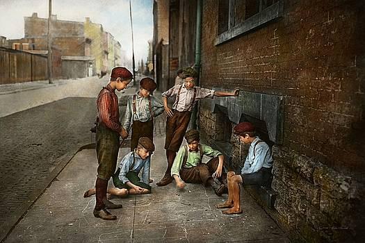 Mike Savad - Kids - Cincinnati OH - A shady game 1908