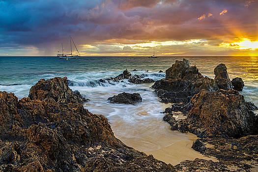 Kihei Sunset by Leigh Anne Meeks