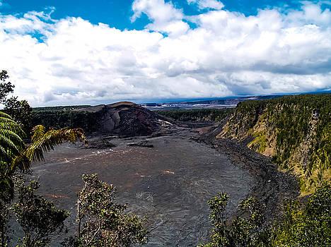 Kilauea Caldera by Randy Sylvia