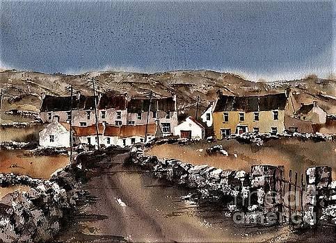 Kilmurvey Inishmore Aran by Val Byrne