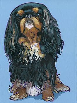 King Charles Spaniel by Nadi Spencer