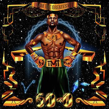 King Floyd Mayweather by Kenal Louis