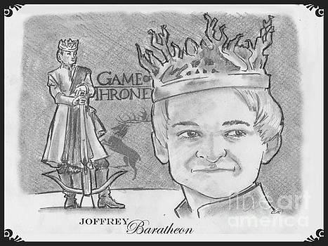 King Joffrey Baratheon by Chris  DelVecchio