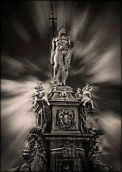King Neptune Sculpture by Joseph Hollingsworth