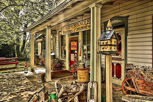 Kings Gap General Store 2  by L Granville Laird