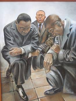 Kings Prayer At Selma by Todd  Gates