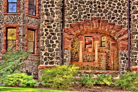 Kips Castle archway entrance Verona NJ by Geraldine Scull
