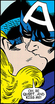 Kiss Me Captain by Gary Grayson