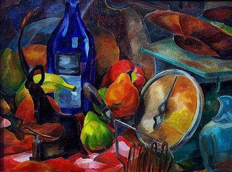 Kitchen Jumble by Donna Teleis
