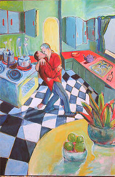 Kitchen Kiss by Dominic Fetherston