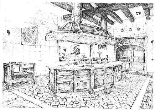 Kitchen  by Marta Gawronska