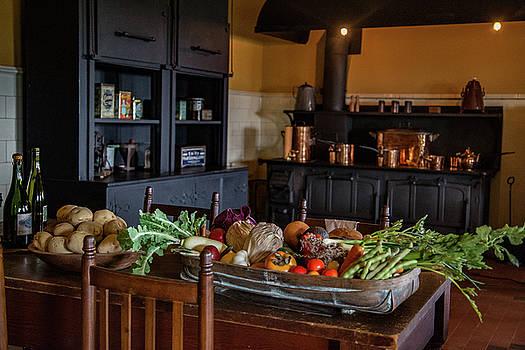 Kitchen Prep by Patrick Flynn