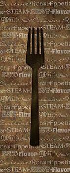 Kitchen Words Art by Heather Lee