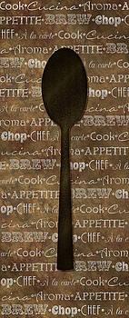 Kitchen Words Art III by Heather Lee