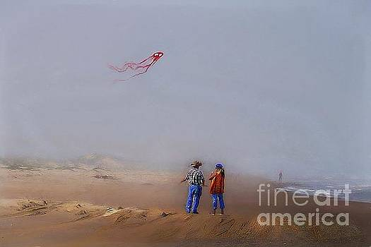 Kite Flying by John Kolenberg