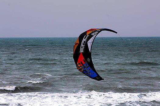 Kite Surfing by Carolyn Ricks