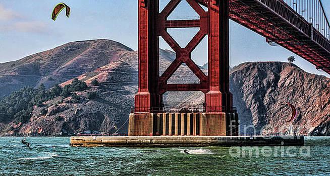 Chuck Kuhn - Kite Surfing II San Francisco