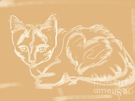 Kitten Love by Go Van Kampen