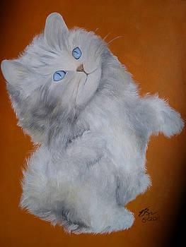 Kitten by Vickie Roche