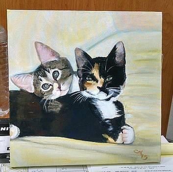Kitty Portrait by Christine Maeda