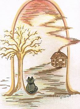 Kittys Home by Teresa White