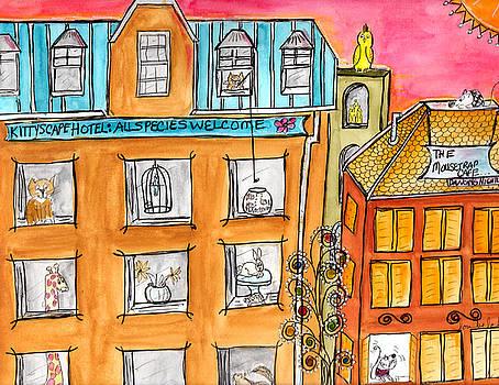 KittyScape Hotel by Lou Belcher