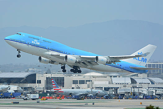 KLM Boeing 747-406M PH-BFH Los Angeles International Airport May 3 2016 by Brian Lockett
