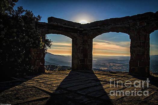 Knap's Castle Sunset by Mitch Shindelbower