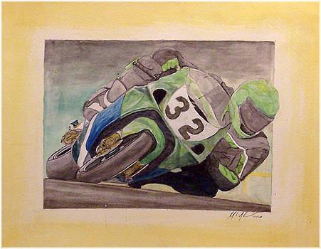 Knee Scraper by Kenneth McGarity