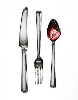 Knife Fork Spoon by Christina Meeusen