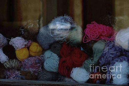 Knitting Wool by Dariusz Gudowicz