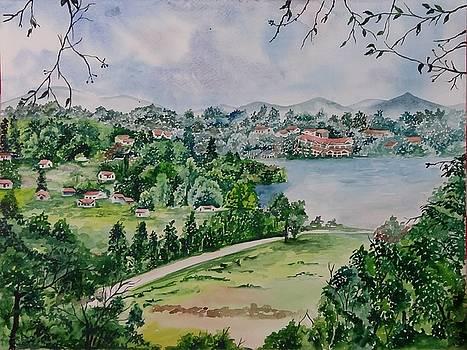 Kodai Lake View by Lupamudra Dutta