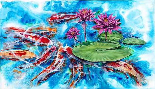John yato artwork for sale san diego ca united for Koi for sale san diego