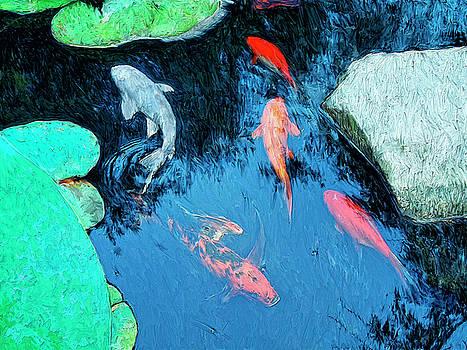 Dominic Piperata - Koi Pond 1