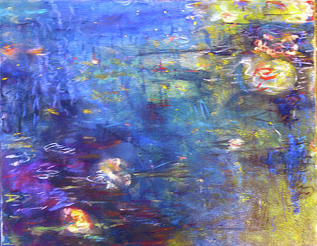 Koi Pond 1 by Tolere