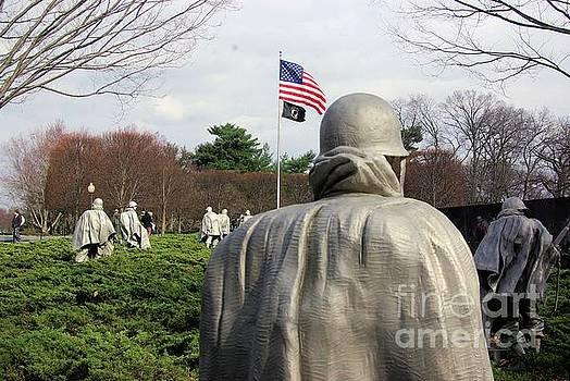 Korean War Memorial  by John S
