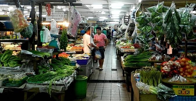 Koto Kindabalu Markets  by Sandra Sengstock-Miller