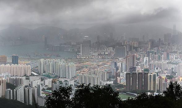 Kowloon Under Storm by Bun Lee
