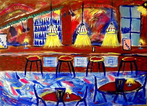 Krakow Pub by Ted Hebbler