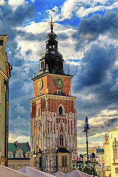 Krakow Town Hall by Kasia Bitner